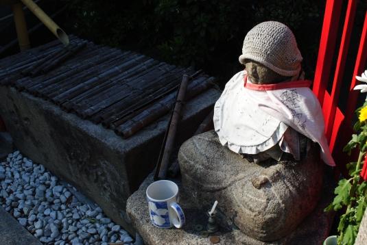 Mizuko statue